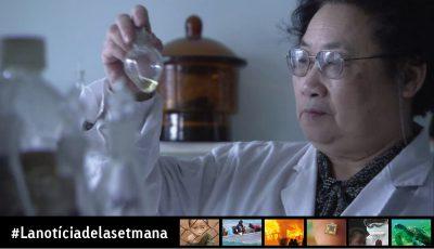 Primera xinesa que rep el premi Nobel