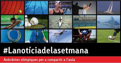 Anècdotes per compartir dels Jocs Olímpics