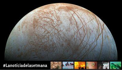 Guèisers en un satèl·lit de Júpiter