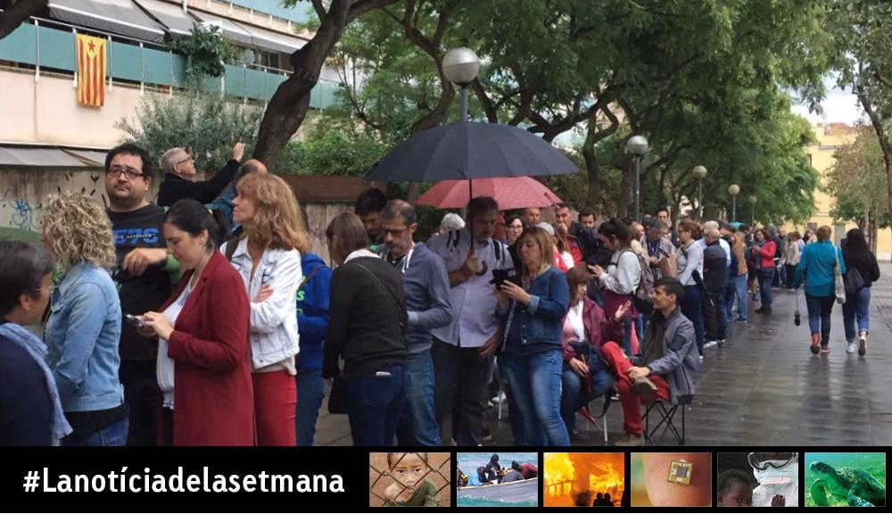 Com parlar a classe del que va passar a Catalunya diumenge 1 d'octubre de 2017?