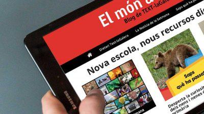 Benvinguts al nou curs i al nou blog de Text-laGalera