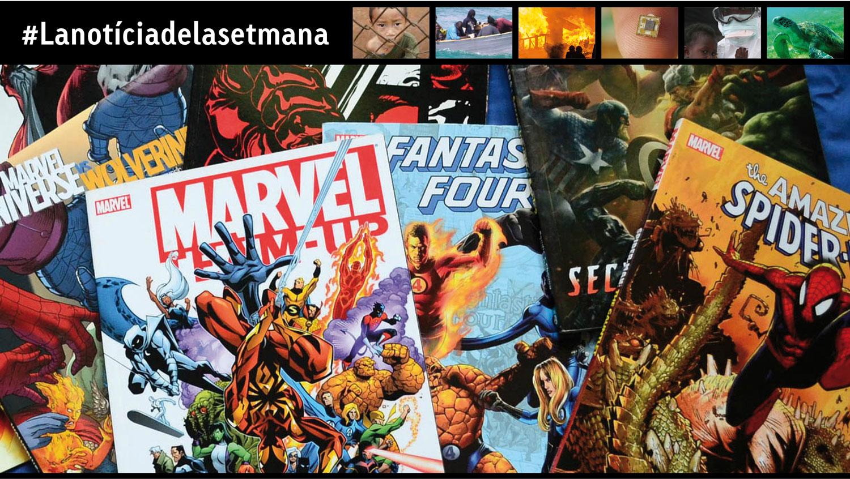 Stan Lee i els seus superherois