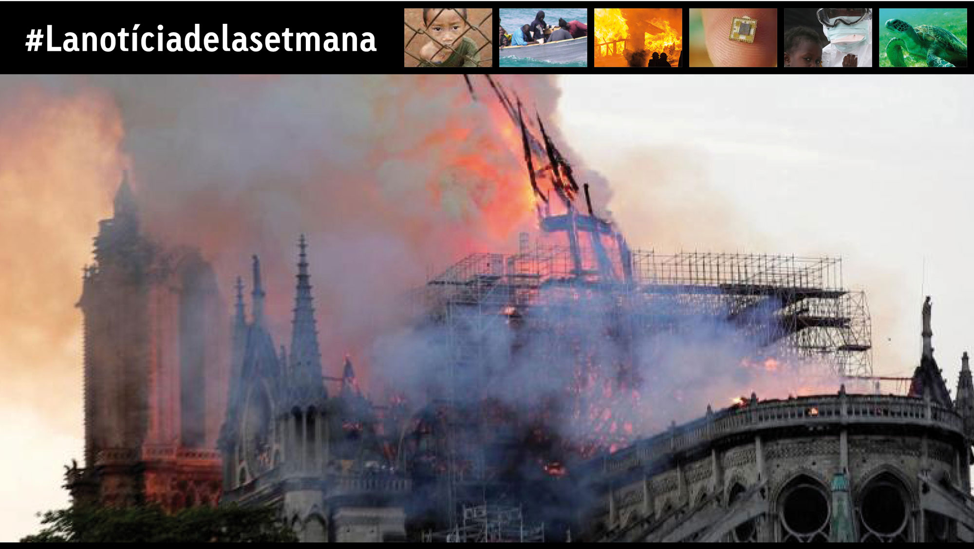L'incendi de Notre-Dame de París