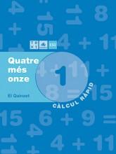 Quadern de càlcul Quatre més onze 1