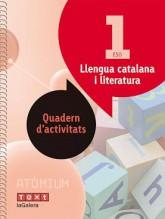 Llengua catalana i literatura Quadern d'activitats 1 ESO Atòmium