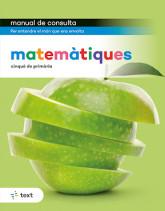 Manual de consulta. Matemàtiques 5