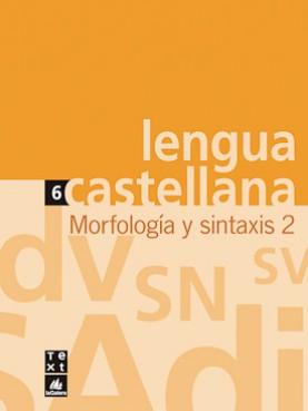 Quadern de Lengua castellana Morfología y sintaxis 2