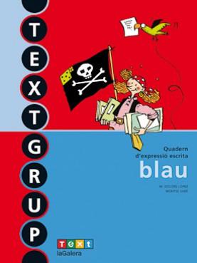 Textgrup blau - Quadern d'expressió escrita 2
