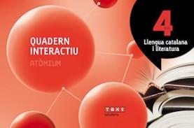 Quadern interactiu Llengua catalana i literatura 4 ESO Atòmium