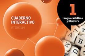 Quadern interactiu Lengua castellana y literatura 1 ESO Atòmium