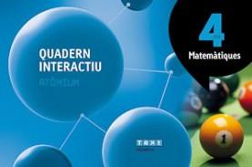 Quadern interactiu Matemàtiques 4 ESO Atòmium