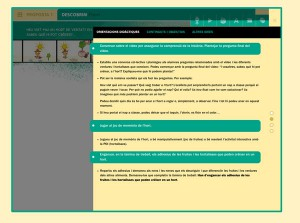 Orientacions didàctiques per cada proposta