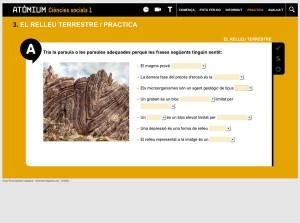 Quadern interactiu Atòmium Ciències socials 1